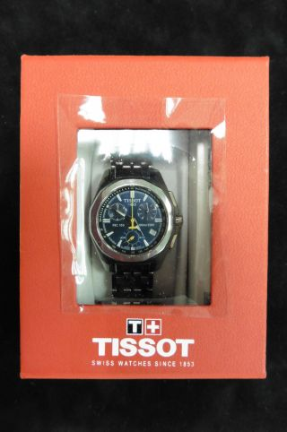 Tissot T - Sport Prc 100 Dau Hau Damenuhr Luxus Klassisch Uhr Quarz Chronograph Bild