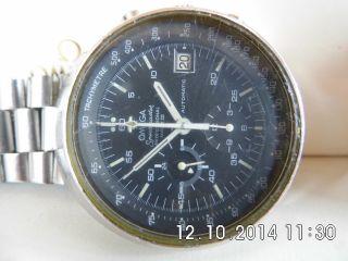 Herrenuhr Omega Speedmaster Mark Iii,  Cal.  1040,  Läuft Gut Hält Die Zeit Mit Box Bild