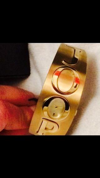 Joop Damenuhr Gold Armspange Mİt Box Weİhnachtsgeschenk Lp249€ Bild