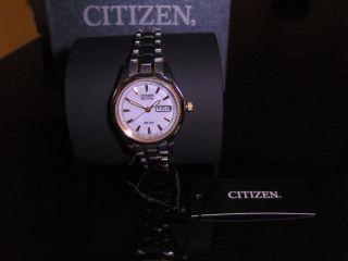 Citizen Eco Drive Uhr Ew3144 - 51ae Damenuhr Armbanduhr Bild