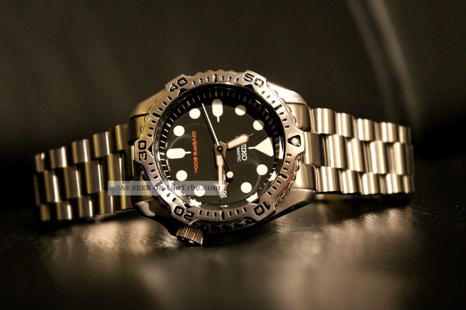 Seiko Skx Armbanduhren Bild
