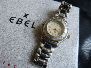 Ebel Discovery Stahl/gold Bild