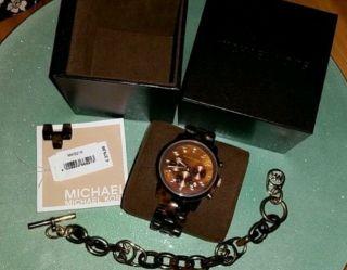 Michael Kors Mk5216 Armbanduhr Für Damen Plus Passendem Armband Von Mk Bild