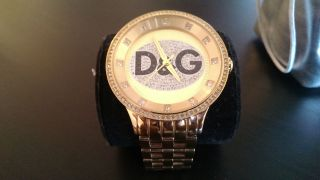 D&g Dolce & Gabbana Prime Time Big Damenuhr Xxl Rose Gold Bild