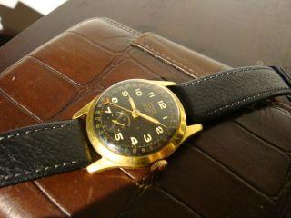 Anker Zeigerdatum Handaufzug Armbanduhr Uhr Sammler 17 Rubis Bild