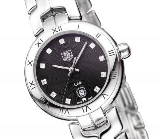 Tag Heuer Link Diamanten Damenuhr Wat1410.  Ba0954 Ovp Diamonds Ladies Watch Bild