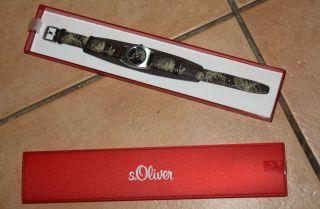 S.  Oliver Armband Uhr Damen,  Mädchen,  Girlie Uhr,  Teens Bild
