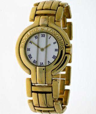 Longines Designed By Rodolphe Damen Classic Dresswatch Quartz Gold Box&papiere Bild