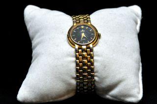 Meister Anker Quartz Damenuhr Gold Vintage Uhr Läuft Bild