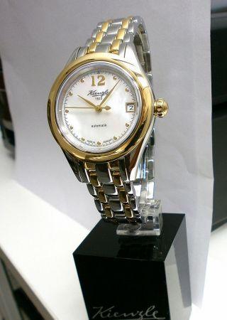 Kienzle Damenuhr Automatik Metall Armband,  Bicolor Saphirglas Bild