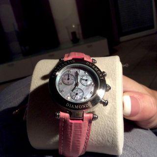 Constantin Durmont Visage Damen Chronograph Uhr Watch Cd - Visl - Qz - Lt - Stst - Pk Bild