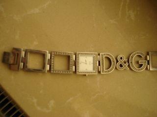 Dolce&gabbana Damen Uhr D&g Strasssteine Weihnachten Bild