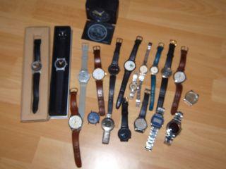 Konvolut 20 Armbanduhren Markenuhren Quartz Uhrmacherauflösung Bastler Bild