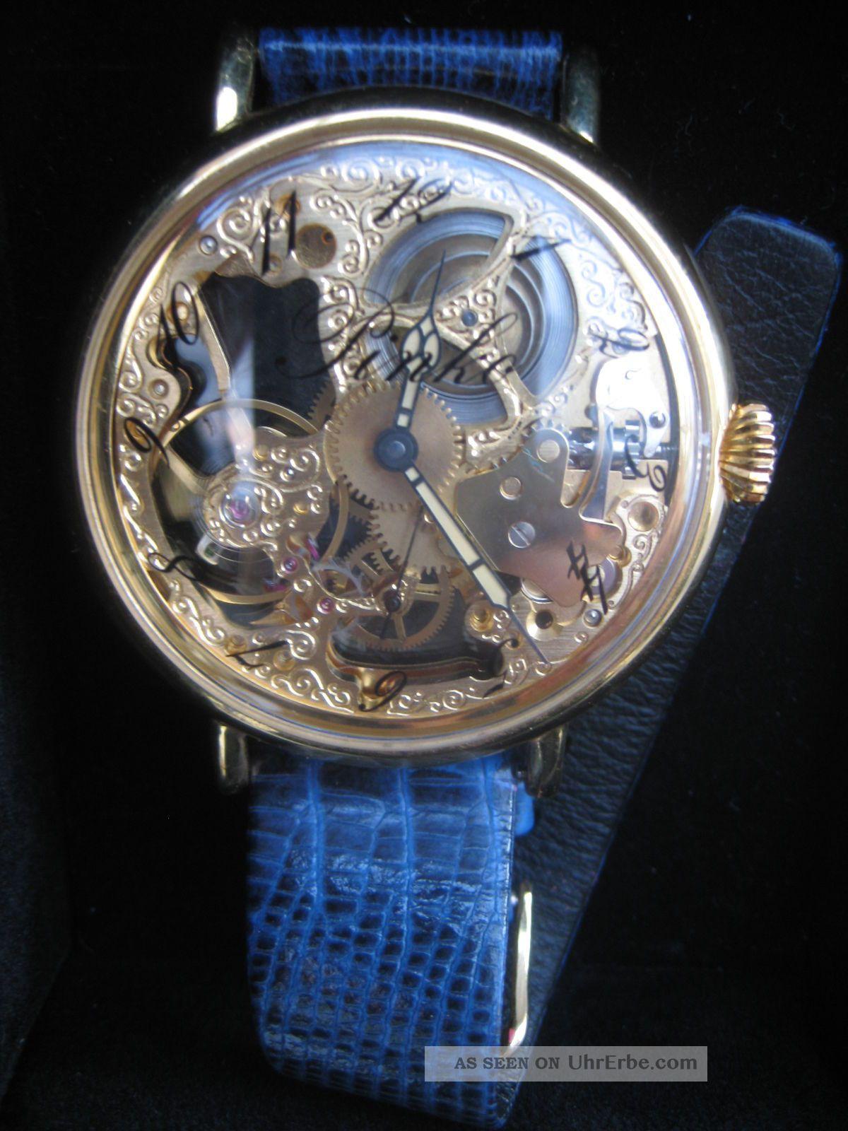 aussergew hnliche pinko armbanduhr damen sichtbares uhrwerk rarit t. Black Bedroom Furniture Sets. Home Design Ideas