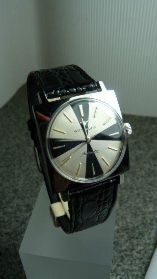 Luxus Longines Wittnauer Automatik Vintage Watch Hau Bild
