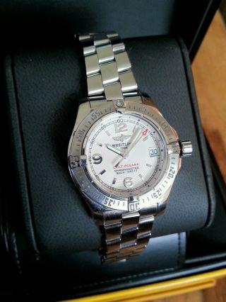Breitling Colt Oceane Armbanduhr Für Damen A77380 Aus 07.  2007 Bild