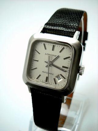 Vintage Longines Automatic Automatik Damen Uhr Datum Bild