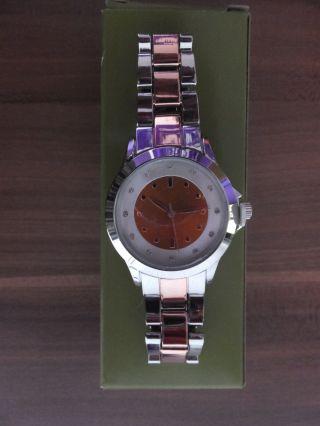 Damenuhr Armbanduhr Uhr Rose - Gold Yves Rocher Weihnachts - Geschenk Bild