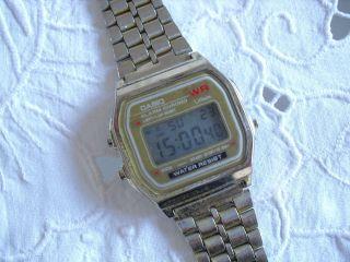 Casio Armbanduhr Damen Herren Gold Retro Vintage Hipster Top Style Bild