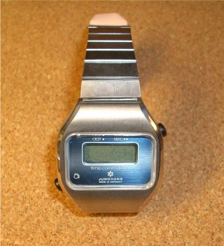 Junghans Herrenuhr Armbanduhr,  Time Commander,  Quartz,  Hau,  Nos Bild