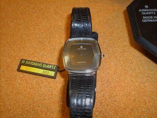 Junghans Herrenuhr Armbanduhr,  Quartz,  Hau,  Nos? Bild