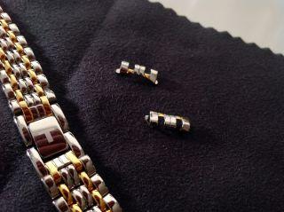 Tissot T - Classic Desire Uhrenarmband T925.  481 (t52.  2.  281.  13) Silber/gold Bild