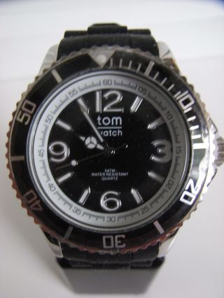 Tomwatch Basic 44 Wa 0001 Black Gl.  Prod.  Wie Kyboe Uvp 49,  90€ Bild