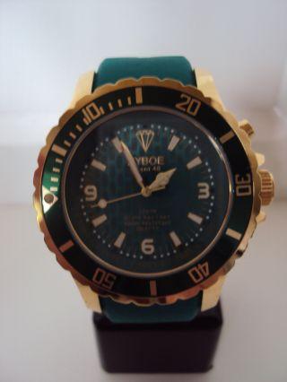 Kyboe Gold Series Kg 003 - 48 Quarz Uhr 10 Atm Uvp 219€ Bild