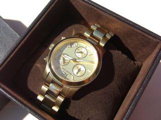 Michael Kors Chronograph Mk5384,  Kaum Getragen Bild