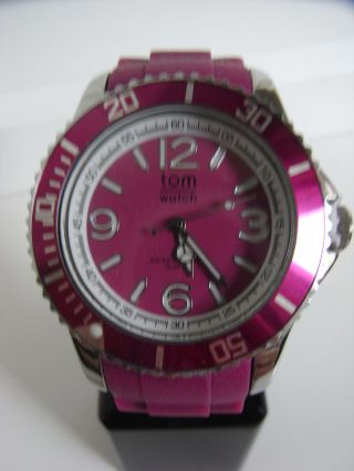 Tomwatch Basic 44 Wa 0030 Deep Pink Uvp 49,  90€ Bild