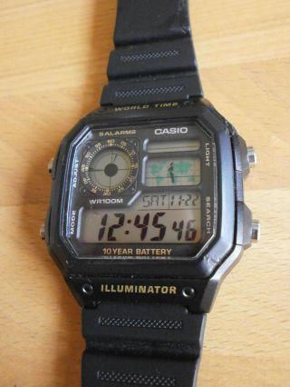 Casio Ae - 1200wh Armbanduhr Sportuhr Einsatzuhr Bild