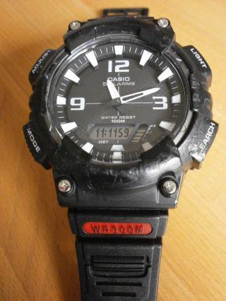Casio Aq - S810w Tough Solar Armbanduhr Sportuhr Einsatzuhr Bild