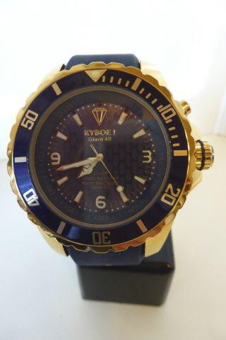 Kyboe Kg 002 - 48 Gold Series Blau Quarz Led Leuchte 10atm Uvp239 Bild