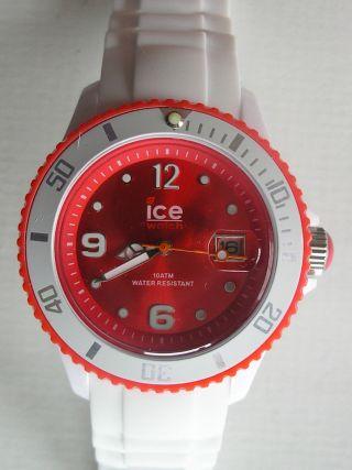 Ice Watch Armbanduhr Caseback Stainless Steel 5atm (35) Getragen Bild