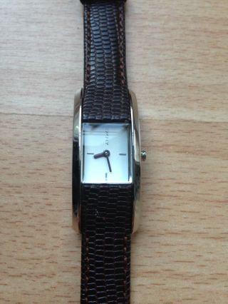 Armbanduhr Damen Dkny Dunkelbraun Leder Bild