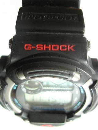 G - Shock Casio Illuminator 1518 - Dw860 Armbanduhr Titanium (27) Getragen Bild