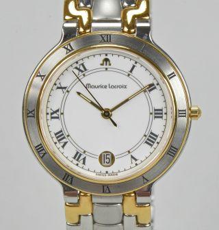 Maurice Lacroix Damenuhr Herrenuhr Edelstahl Bciolor Luxusuhr Armbanduhr Bild