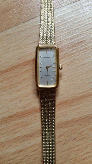 Retro Dugena Damenarmbanduhr,  70er Jahre,  Vergoldet Bild