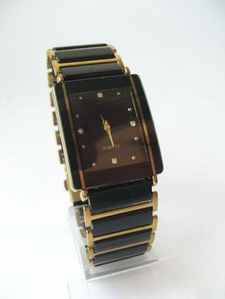 Unisex Quarz Uhr In Kareeform Bild