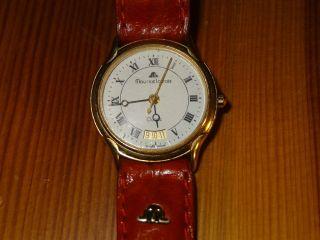 Maurice Lacroix Damen Uhr Modell 75927 Swiss Made Goldfarben Bild