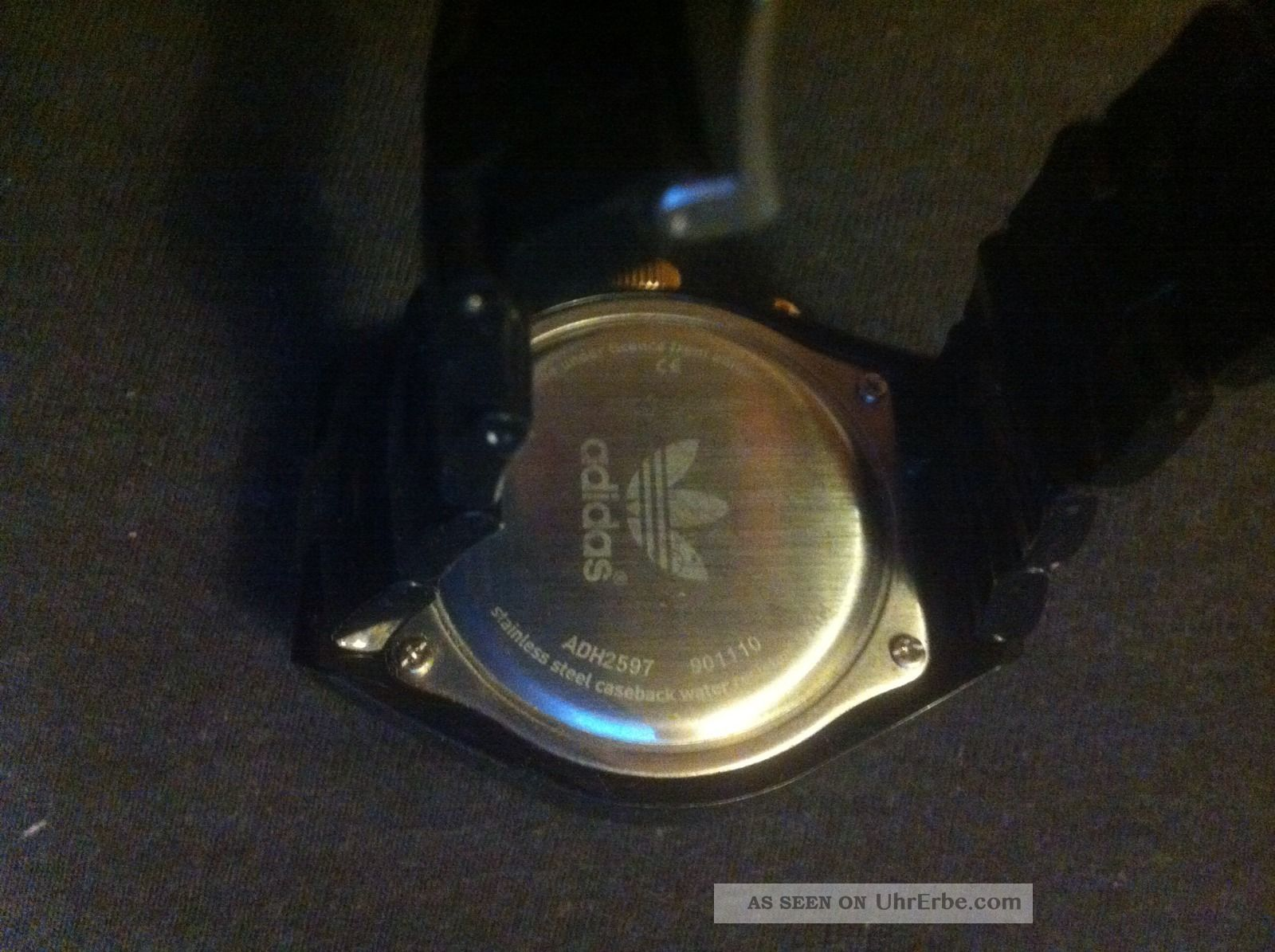 Adidas Uhr Damen Schwarzpinkgold
