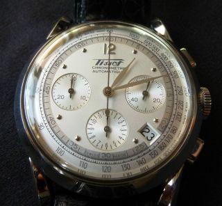 Bildschöner Tissot 150th Anniversary Chronograph/ Chronometer/neuwertig Bild