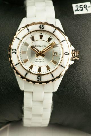 Dyrberg/kern Damen Uhr Modell Oceamica Analog Keramik 332701 Bild