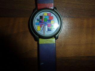Poppige Uhr