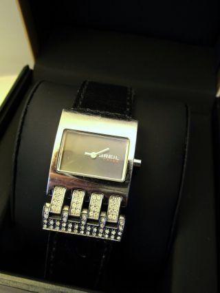 Breil Tribe Damen Armbanduhr Tw0208 Mit Swarovski Kristallen Bild