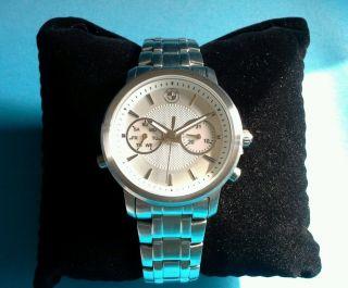 Bmw Uhr Armbanduhr Edelstahl Ovp Wasserd.  B.  10 Atm Tolles Weihnachtsgeschenk Bild