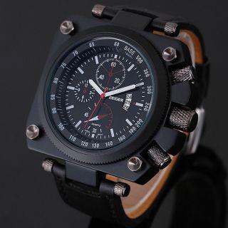Uboot Zeiger Xxl Herren Armbanduhr Herrenuhr Militär Uhr Datumsanzeige Bild