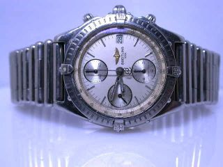 Breitling Chronomat Edelstahl M.  Roleauxband Limited Edition No94 1420/1994 Bild