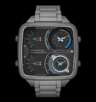 Diesel Herren - Armbanduhr Chrono Xxl Mr Daddy 4 - Zeitzonen - Anzeige Dz7284 Bild