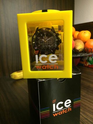 Ice Watch Ice - Chrono Armbanduhr Für Herren (ch.  By.  B.  S.  10) Bild